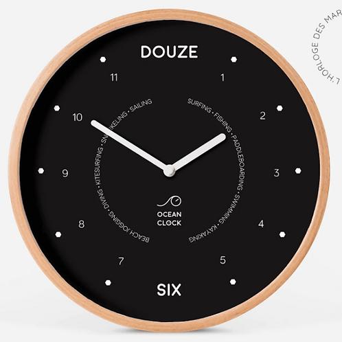 Horloge Noir