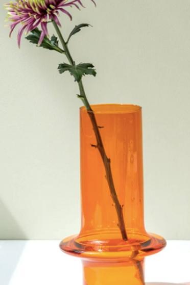 Vase en verre recyclé esprit vintage