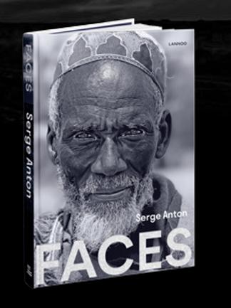 """Livre """"FACES"""" Portraits de Serge Anton"""