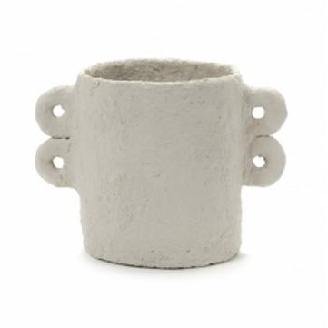 Pot avec couvercle papier mâché M.Michielsen Serax
