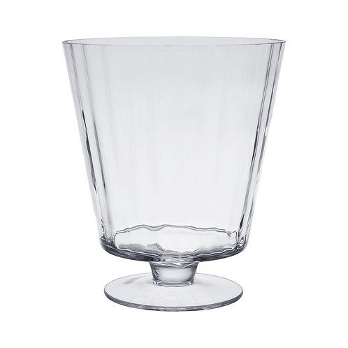 Vase en verre L