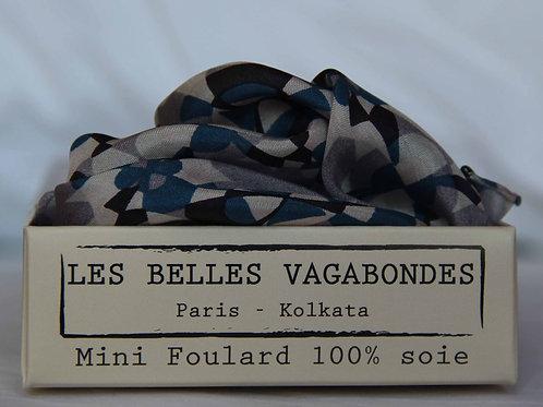 Foulard carré en soie Kaleidoscope