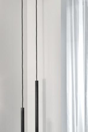 Lampe suspendue en acier bleu S Koen Van Guijze Serax