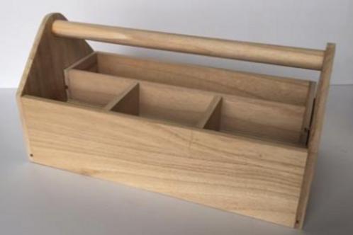 Boite à outils en bois
