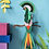Thumbnail: Décoration murale 3D OISEAUX taille moyenne