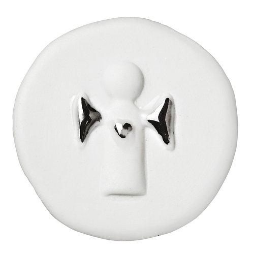 Porte Bonheur Blanc en porcelaine