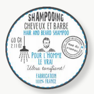 Shampoing cheveux et barbe