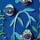Thumbnail: Décoration murale 3D POISSON petite taille