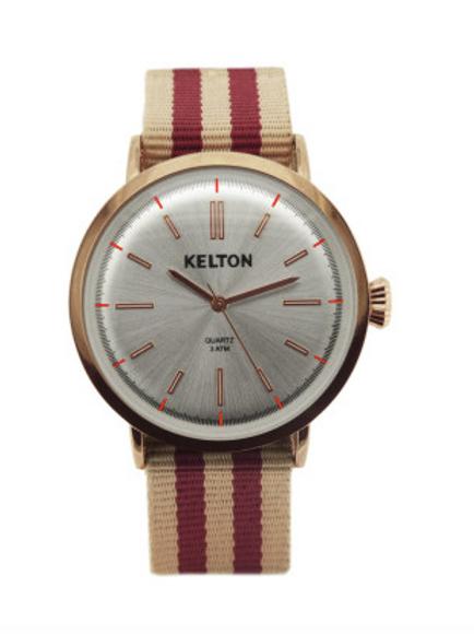 Montre or rose KELTON