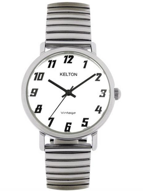 Montre vintage élastique KELTON
