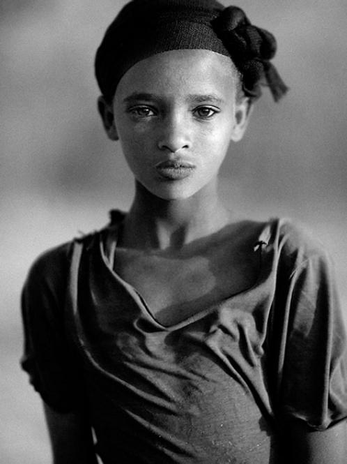 Portrait de Serge Anton : la jeune fille au turban