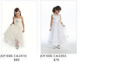 JoyKids (sizes can be from 0 mo.-20)