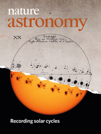 Publication in the journal Nature Astronomy - Gamma Ray Bursts