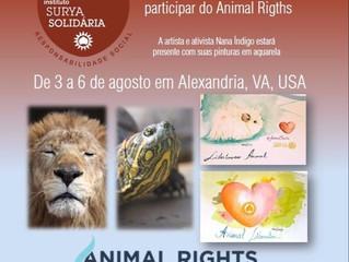 Surya Solidária participa de Conferência de Direitos Animais nos EUA