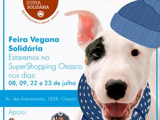 Feira Vegana Solidária no SuperShpopping Osasco