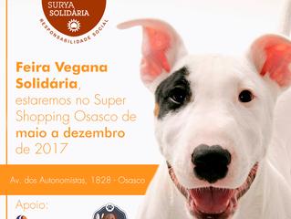Feirinha Vegana Solidária no SuperShopping Osasco até dezembro