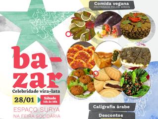 Feirinha Vegana Solidária de ONGs - Especial Ocupação Celebridade Vira-Lata