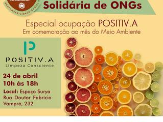 Feirinha Vegana Solidária recebe Ocupação POSITIV.A