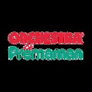 Orchestra written in red under which Premaman is written in green.