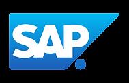 """Solid blue-filled quadrangle with """"SAP"""" written inside (i.e. SAP logo)"""