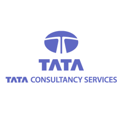 """A blue horizontal oval with a white """"T"""" is the logo symbolizing """"Tata Consultancy Services"""""""