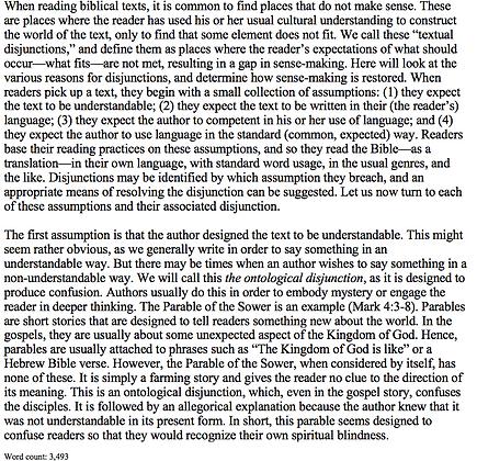 Interpreting Confusing Biblical Texts (Eric Douglass)