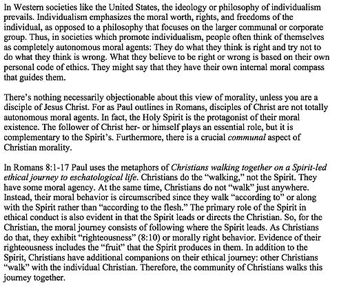 The Spirit and Christians' Moral Compass in Romans 8 (William E. W. Robinson)