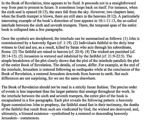 Temporal Distortion in the Book of Revelation (Paul B. Duff)