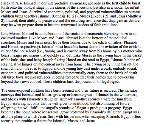 Ishmael, A Refugee Child (Julie Faith Parker)
