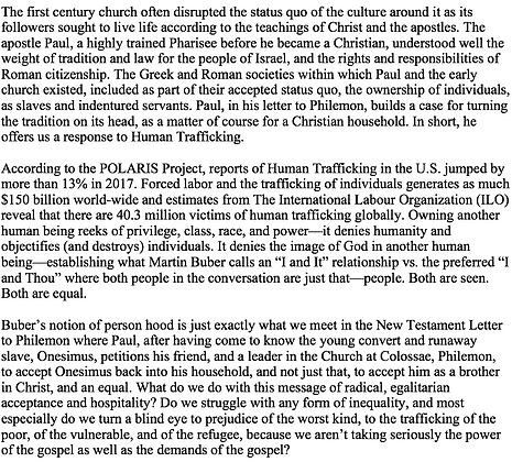 Paul and the Problem of Human Trafficking (Kathryn A. Broyles)