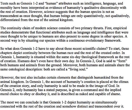 Human Beings or Human Animals in Genesis 1-2 (Brian Carrier)