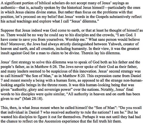 The Dilemma of Jesus (James N. Pohlig)