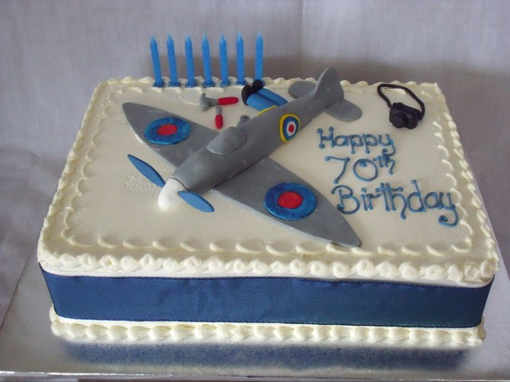 Just a plane cake, please