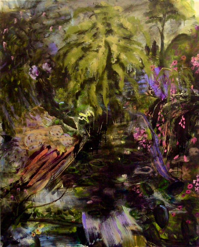 """Washed Away, 2012, oil on linen, 48""""x60"""", 122cm x 152cm"""