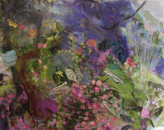 """Spring, 2008, oil on linen, 60""""x72"""", 152cm x 183cm"""