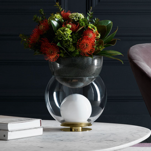 Vase and LED light