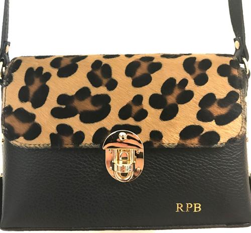 eee71b922be9 Personalised Animal Print Leather Bag