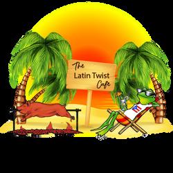 The Latin Twist Cafe Artwork Photoshop F