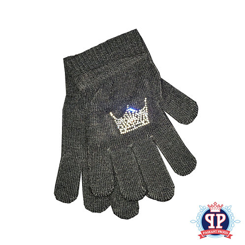 Bling Crown Gloves