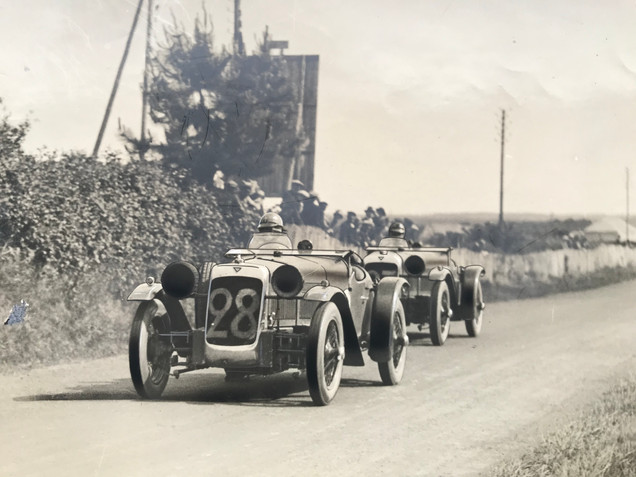 Le Mans 1928  24 hour race class winning front wheel drive cars