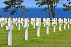 War cemetery Omaha beach Normandy