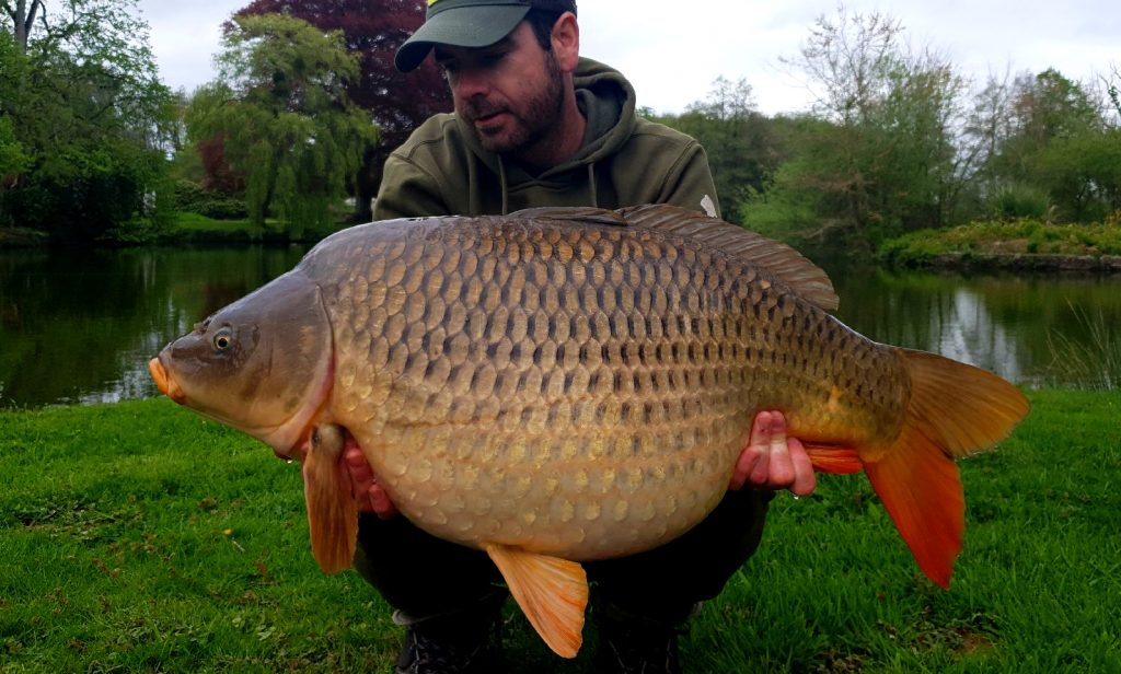 Fishing lakes in Cotentin Normandy