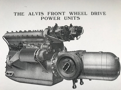 The Alvis Front Wheel Drive Eight Cylinder Power Unit