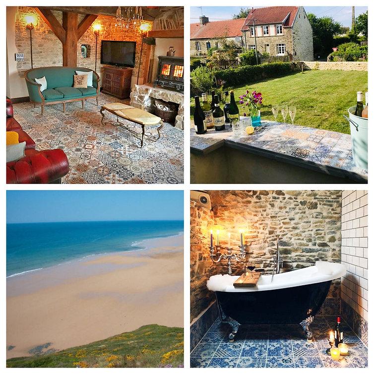 Glatigny Farmhouse - beach Gite in Normandy