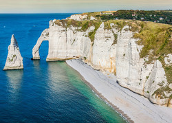 Etreat Cliff Arch Normandy | Holiday