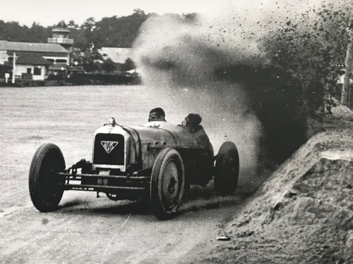 First front wheel drive car during the 1925 200 Miles Race