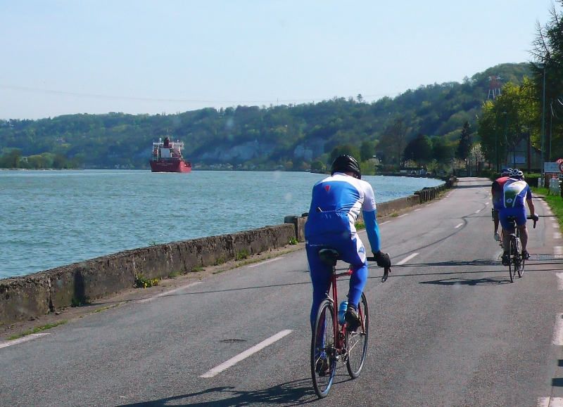 Normandy cycling