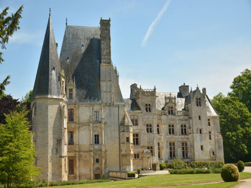 Chateau de Fontaine Henry Normandy