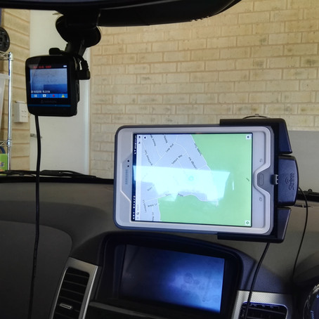 Strike Alpha Cradle - Samsung Tab A 8 Vehicle Mount