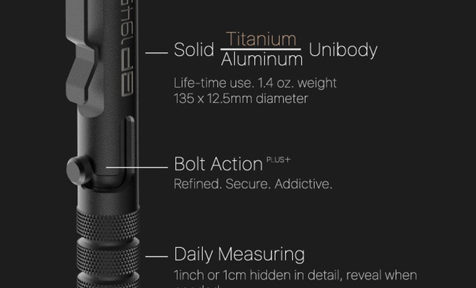 Introducing the GP1945 Pro Tactical Pen